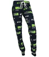 Seattle Seahawks NFL Concepts Sports Sweep Women's Pajama Pants-Size Medium