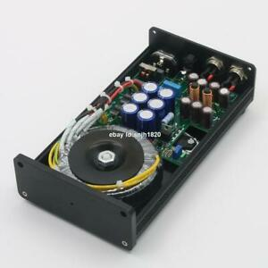 Finished 50VA HIFI Ultra-low Noise Linear Power Supply DC12V+12V  Audio Adapter