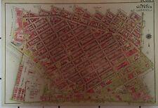 1907 WILLIAMSBURG BROOKLYN NY ATLAS MAP US NAVAL HOSPITAL FLUSHING AV-S 2ND ST
