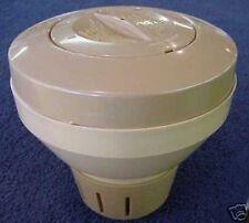 """Nice Beige Pool 3"""" ChlorineTablet Chlorinator Dispenser"""