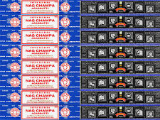 8 Box Nag Champa & 8 Box Super Hit 240 Grams Satya 2016 Series Incense 15 gm/Box