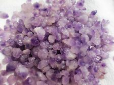 1/2lb Lot AMETHYST LIGHT PURPLE,Vug Mineral CLUSTER Rough Specimen 230g