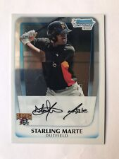 2011 Bowman Chrome Prospects Starling Marte BCP178