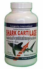 Shark Cartilage  - Best for Arthritis and Pain Relief - 750 mg - 120 capsules
