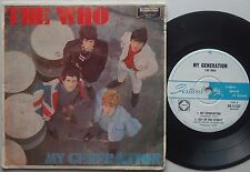 THE WHO My Generation Ep AUSTRALIA Very Rare! OZ PICTURE COVER '65 Vinyl UK Rock