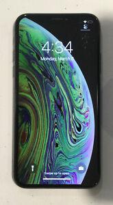TESTED BLACK CDMA + GSM UNLOCKED APPLE iPhone XS, 256GB A1920 MTAL2LL/A M245H