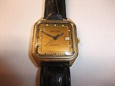 v DDR UMF Ruhla PierreLaro Quartz Quarz Uhr Armbanduhr Quarzuhr funktionstüchtig