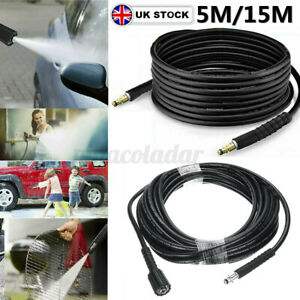 5M 15M High Pressure Washer Replacement Pipe Cleaning Hose For Karcher K2-K5