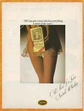 OLD PARR De Luxe Scotch Whisky 1981 Vintage Print Ad # 112 1