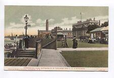 Greenwich Pier Showing RN College & LCC Steamer