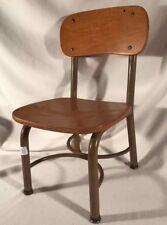 Vintage Irwin Seating Company Old School Metal & Wood Children's Chair