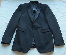 NWT $1595 BURBERRY PRORSUM Black Tuxedo Jacket/Blazer US 42 EU 52