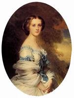Oil painting melanie bussiere, countess edmond de pourtales beautiful nice lady