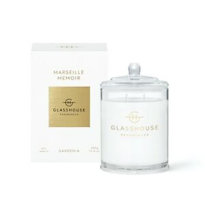 Marseille Memoir - Gardenia Candle 380G ***3 PACK*** | Glasshouse