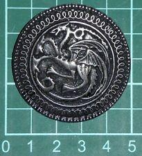 Broche juego de tronos Daenerys Targaryen dragón canción hielo y fuego zinc