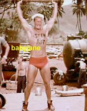 009 KEN CLARK SOUTH PACIFIC SEXY BARECHESTED IN BATHING SUIT COLOR PHOTO