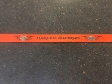 Harley Davidson Leather Pet-Dog 4' orange Leash.