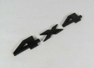 JEEP GRAND CHEROKEE 4X4 EMBLEM REAR LIFTGATE MATTE BLACK BADGE back sign logo
