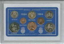 1984 Vintage Moneda establece 34th cumpleaños regalo de boda aniversario de nacimiento año actual