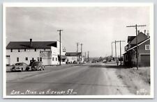 Orr Minnesota~Lammi Tourist Supplies~Grocery~Standard Oil Gas Station~Rppc c1950