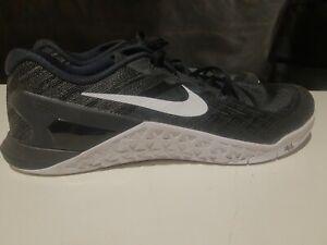 Nike Metcon 3 Training Shoes Black Men's US Size 13 TP 61