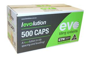 Levolution Caps - 500 Box - Tile Spacer - tilers tiling tools