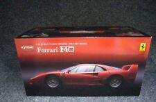 Kyosho Original Di-Cast Modèle 1/18 Echelle Ferrari F40 Rouge avec Box de Japon