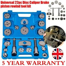 Universal 22pc Disc Brake Caliper Piston Rewind Tool Kit Set Auto Wind Back Car