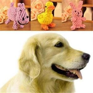 Puppy Chew Dog Toys Braided Dental Teaser Rope Teeth Cleanning HO