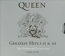 QUEEN Greatest Hits I II & III The Platinum Collection by Queen 1, 2 & 3 CD