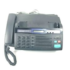Sharp Ux-177A Fax Machine And Manual Copy Speaker Phone, Not Tested