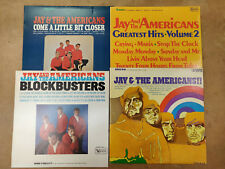 Jay and the Americans Lot of 4 Original Vinyl Record Albums Lp 33's