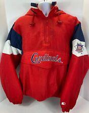 St. Louis Cardinals Vintage 1990s Starter Team Jacket Windbreaker Pullover MenXL