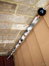 HandCrafted spaulted *8-pool-ball* security CANE/WALKING-STICK~Great Useful Gift