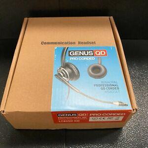 Genus PRO UC Binaural Noise Cancelling U10 Headset LT805D QD