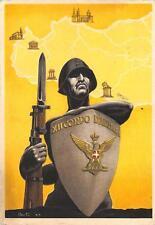 C4105) WW2 FRANCHIGIA XII CORPO D'ARMATA ILL. BERTO. VIAGGIATA CON P.M. 84