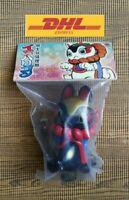 Inuharigon Black Inu Harigon Folk Toy Kaiju Sofubi Vinyl Designer Toy Cat Figure