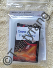 Emergency Fish Pack © ~ Fish Bags ~ Fish Transport ~ Bag Buddie ~ Heat Pack