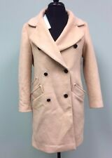 EIFINI COAT WINTER DOUBLE BREASTED FASHION BEIGE CHINA WOMEN'S SIZE M