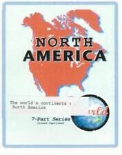Continents Of The World: North America DVD VIDEO MOVIE learn land planet earth!