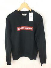 AMI Paris Alexandre Mattiussi Coucou Londres Crew Sweater Jumper Black XL £175