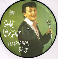 GENE VINCENT - TEMPTATION BABY - COMPLETE COLUMBIA SINGLES  Limited Picture Disc