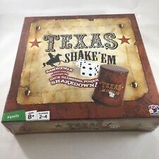 Texas Shake 'Em Poker Board Dice Game Discovery Bay 2011