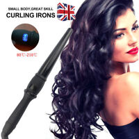 NEW Hair Curler Iron Digital Hair Curling Wand Styling Tong Waver ceramic UK