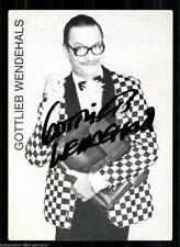 Gottlieb changeant AUTOGRAPHE CARTE 80er Ans Original Signé +14133 + 31379