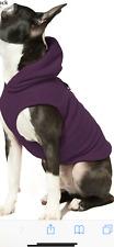 GOOBY DOG FLEECE HOODIE  SIZE XL!SO SOFT WARM COMFY! PLUM COLOR!