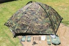 US Army EUREKA TCOP USMC one person Combat WCP woodland camouflage Tent Zelt