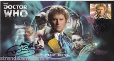 2013 Dr Who (Stamps) - Scott 6th Doctor Official - Signed COLIN BAKER