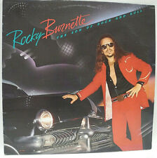 ROCKY BURNETTE - THE SON OF ROCK AND ROLL - 1980 EXCELLENT GRADED CANADA VINYL