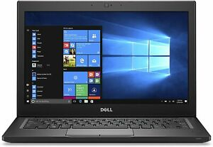 "Dell Latitude 7280 12.5"" HD Laptop 2.8GHz Intel Core i7-7600U 16GB RAM 256GB SSD"